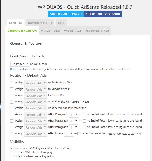 WP QUADSプラグインのインストール